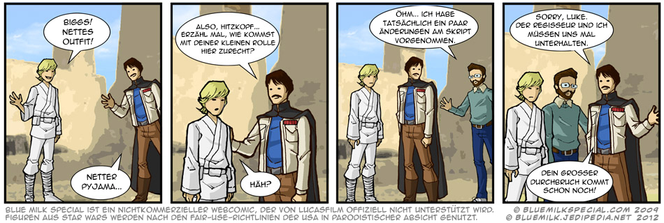 Biggs Darklighter, Teil 1
